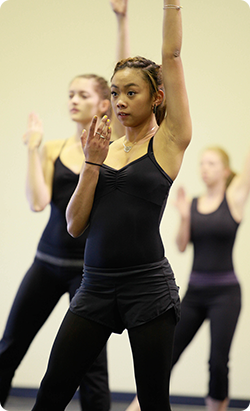 girls learning dance | Artist in Residence