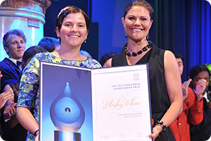 Hayley Todesco and HRH Crown Princess Victoria of Sweden