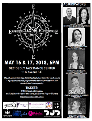 East Side Dance Poster