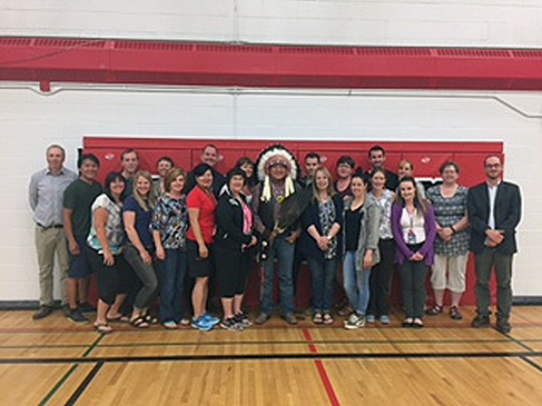National Indigenous Peoples Day at F.E. Osborne School