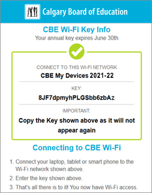 CBE Wireless | Technology for Learning | Programs | Calgary Board of